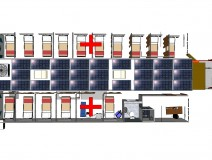 Trailer Extensible Mobile Hospital